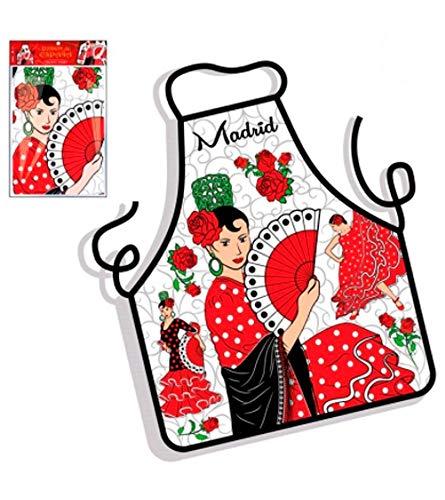 ZINGS Delantal de Cocina Souvenirs de Madrid - Torero