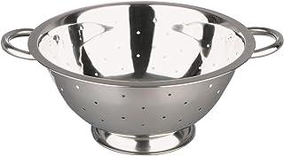 ibili 71114 slaverzeef met voet 14 cm, roestvrij staal, zilver, 14 x 14 x 10 cm