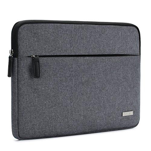 "DOMISO 14 Zoll Laptop Sleeve Case Hülle Tasche für 13.5\"" Surface Book / 14\"" HP 14 Pavilion 14/14\"" Lenovo Flex 6 IdeaPad 520S 320S / ASUS E402 E403 / Dell Latitude 3460 3470 (Grau)"