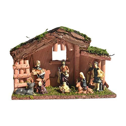 winnerurby Decoración para belén hecha a mano, decoración para decoración navideña.