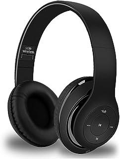 YiYunTE Auriculares Bluetooth de Diadema Cascos Plegable Bluetooth Inalámbrico Auriculares Over Ear con Micrófono Cancelac...