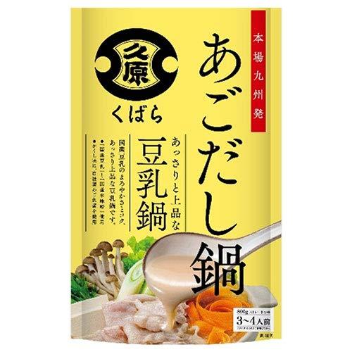 久原醤油 あごだし鍋 豆乳鍋 800g×12個入×(2ケース)
