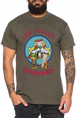 Los Pollos Camiseta de Hombre Hermanos Bad Heisenberg Breaking