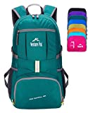 Venture Pal Ultralight Lightweight Packable Foldable Travel Camping Hiking Outdoor Sports Backpack Daypack-ArmyGreen