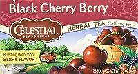Celestial Seasonings - ブラックチェリーの果実のハーブ茶 - 1ティーバッグ