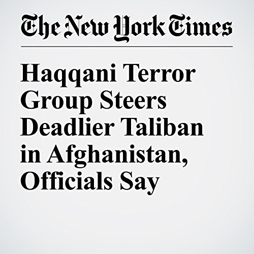 Haqqani Terror Group Steers Deadlier Taliban in Afghanistan, Officials Say cover art