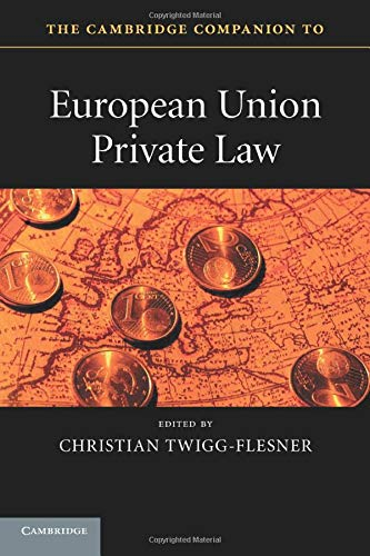 Image OfThe Cambridge Companion To European Union Private Law