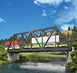 Walthers Cornerstone HO Scale Model Modernized Double-Track Railroad Truss Bridge Kit Collectable