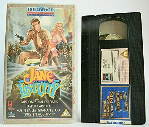 Jane and the Lost City [VHS] [1987]