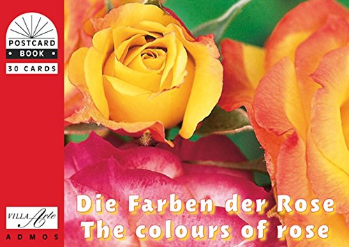 Die Farben der Rose: Postkartenbuch