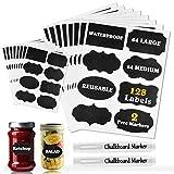 MCleanPin 128 Etichette di Lavagna Adesivo Lavagna Riutilizzabile Lavagna Adesiva per Deco...