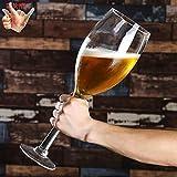 SUSU Verre énorme Surdimensionné Vin Et Boire Géant Creative Jeu Props Lunettes Parti D'intérieur De Grande Capacité Tasse De Bière Hero Cup B-2L(2000ml)
