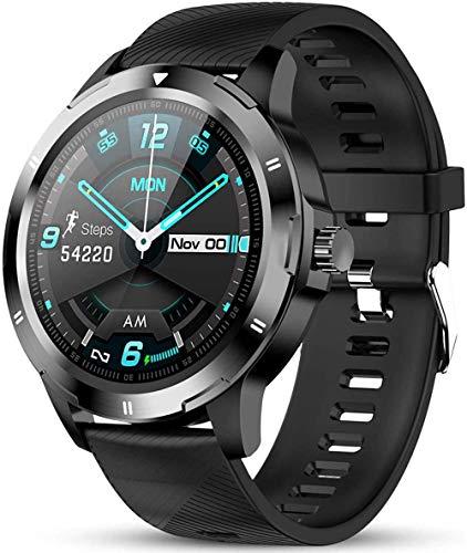 Reloj inteligente compatible con teléfonos iPhone y Android Fitness Tracker con presión arterial Monitor de ritmo cardíaco IP67 impermeable Podómetro Smartwatch con monitor de sueño