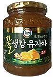 Sura Wang Citron Tea with Honey Ginger, 20.46 oz bottle