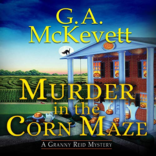 Murder in the Corn Maze audiobook cover art