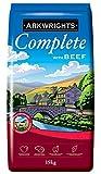 2 x Arkwrights Complete Dry Dog Food Beef, 15 kg