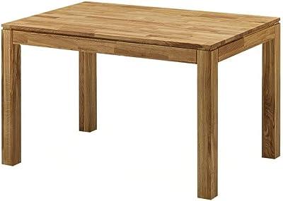 Zons Table DE Salle À Manger 8-10 Personnes Naturel Bois CHÊNE Massif, 200 cm