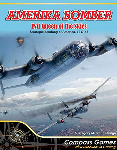 Solitaire Wargame Amerika Bomber - Evil Queen of The Skies