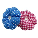 DODOGA Wrist Pin Cushions Wrist Sewing Pin Cushion Pumpkin Shape Wrist Wearable Sewing Nee...