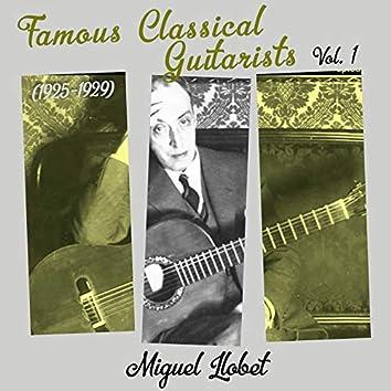 Famous Classical Guitarists, Vol. 1 (1925 - 1929)