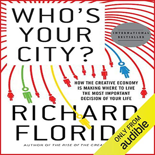 Who's Your City? audiobook cover art