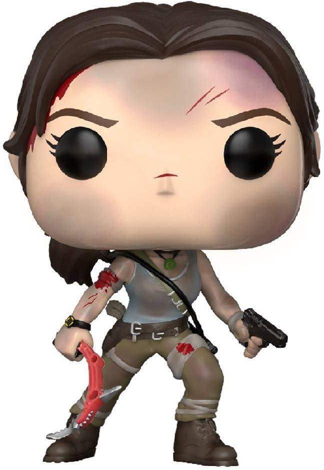 Funko 29007 S2 Games Tomb Raider Lara Croft Pop Vinyl Figure Multi Funko Pop Games Amazon Co Uk Toys Games
