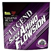 ビーレジェンド BCAA + グルタミン + シトルリン SUPER AMINO FLOWSION もう1レップ!グレープ風味【420g】