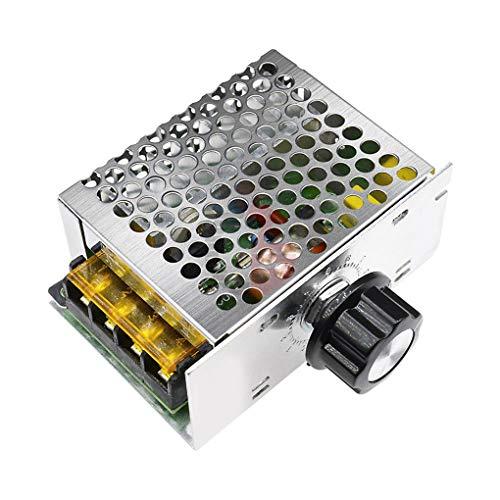 Topker Módulo Controlador de 4000W 220V AC SCR Velocidad del Motor Regulador de Voltaje electrónico Dimmer Reglamento de Control de Velocidad