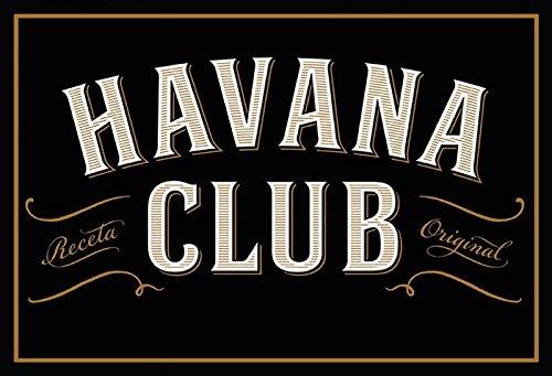 Schatzmix Havana Club Metal Sign deko Sign Garten Blech
