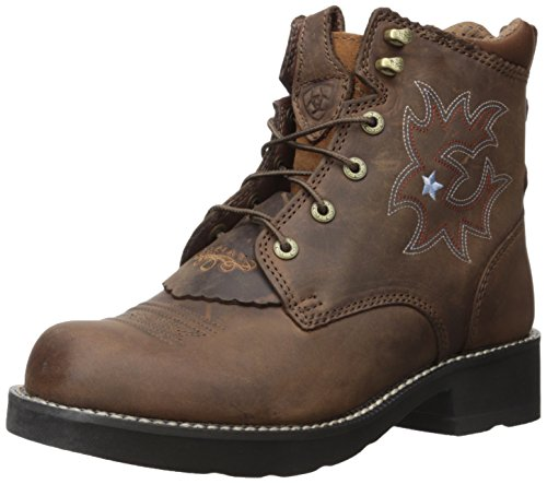 ARIAT Women's Probaby Lacer Western Cowboy Boot, Driftwood Brown, 5.5 B US