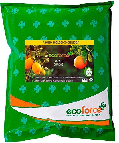 CULTIVERS Abono Ecológico Cítricos de 5 Kg. Fertilizante Origen 100% Orgánico y...