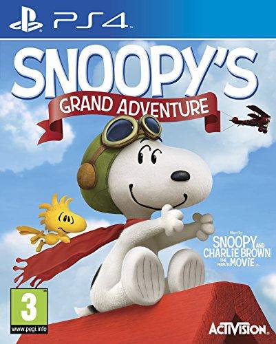 Activision The Peanuts Movie: Snoopy's Grand Adventure, PlayStation 4 Básico PlayStation 4 vídeo - Juego (PlayStation 4, PlayStation 4, Plataforma, Modo multijugador, E (para todos))