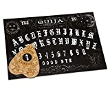 WICCSTAR Black Ouija Board Game with Planchette and Detailed Instruction