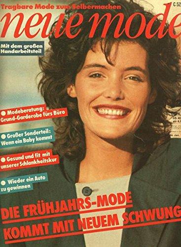 Neue Mode Nr. 02/1983 24.01.1983 Die Frühjahrs-Mode kommt mit neuem Schwung
