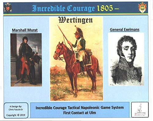 Tactical Wargame Incredible Courage 1805 - Wertingen ,The First Contact at ULM