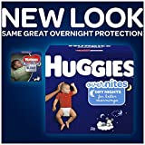 HUGGIES OverNites Diapers, Size 4, 21 ct., Overnight Diapers (Packaging May Vary)