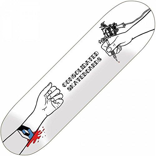 Consolidated 21cm gezeichnet Skateboard Deck