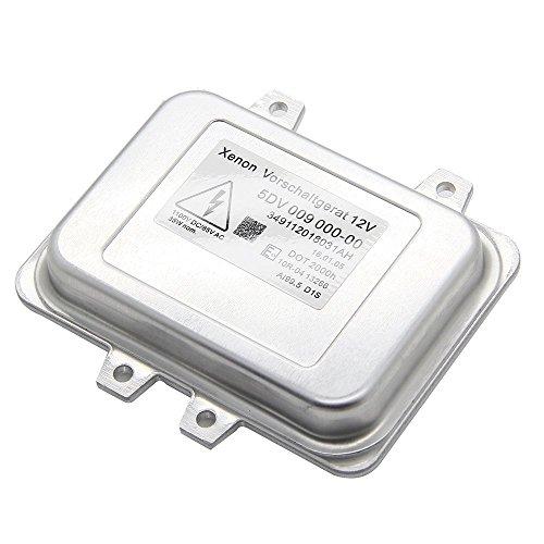 Yikesai 5DV 009 000-00 Xenon Hid Headlight Ballast Control Unit-for 2007-2014 Cadillac Escalade & 2006-2009 BMW E60 & 2008-2014 Chrysler Town Country (5dv 009 000-00)