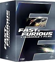 L'intégrale des 7 films de la saga Fast and Furious.