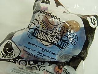 Mcdonalds Happy Meal Toy Spongebob Sandy Rocket Boat #15
