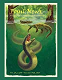 """Fossil News: The Journal of Avocational Paleontology: Vol. 23.2/23.3€""""Summer/Fall 2020"""