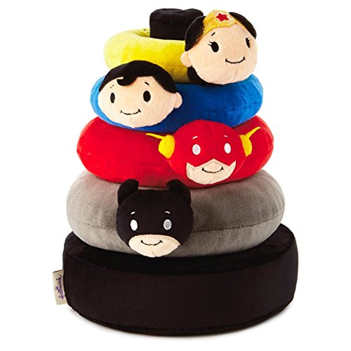Product Image of the itty bittys DC Comics Super Hero Baby Stuffed Animal Stacker Baby Essentials...