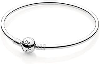 PANDORA Bangle Bracelet with Signature Clasp