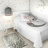 HACIENDO EL INDIO Colcha bouti Sleeping Moon Cama 105 cm