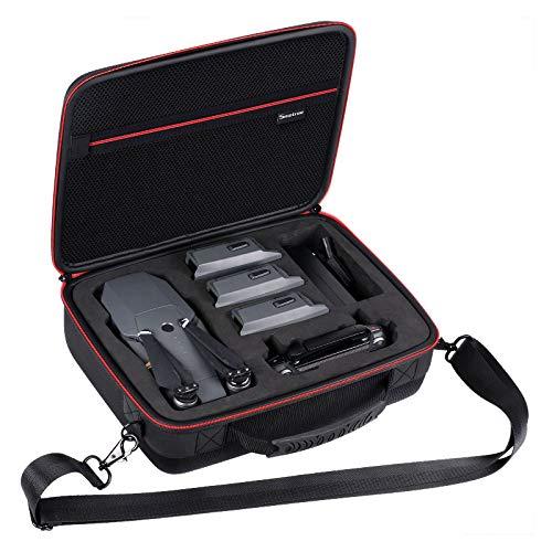 Smatree Custodia per DJI Mavic Pro/Mavic Platinum, adatta per 3 batterie drone, adattatore per caricabatterie e telecomando (Non applicabile per Mavic Pro 2)