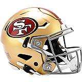 Riddell NFL San Francisco 49ers Speedflex Authentic Football Helmet Team Color, Large