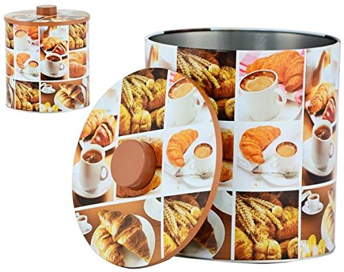 AVENUELAFAYETTE Boîte Pot métal Cuisine Petit déjeuner - 20 cm