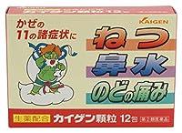 【指定第2類医薬品】カイゲン顆粒 12包