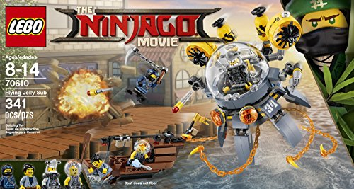 Lego 70610 - Ninjago Movie Turbo-Qualle, Seltenes Set