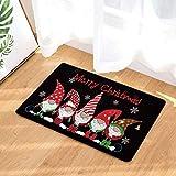 About1988 Weihnachts-Fußmatte, Eingangstürvorleger, rutschfest, kreatives Fußmatte, Weihnachten Home rutschfeste Tür Fußmatten Hall Teppiche, Fußmatte Schmutzfangmatte (Multicolor) - 2